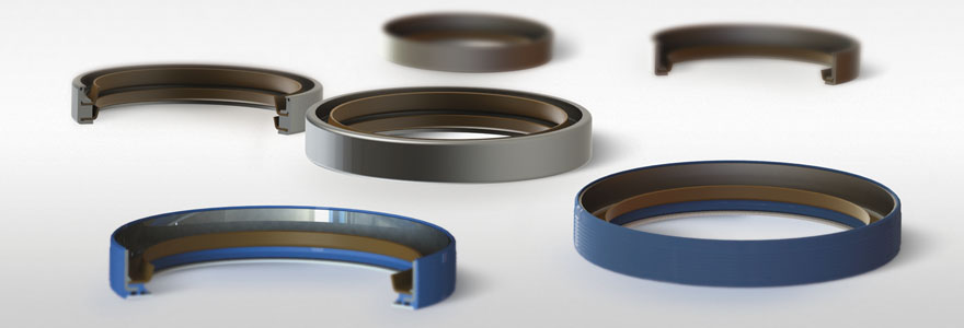 Shaft seals with PTFE lips