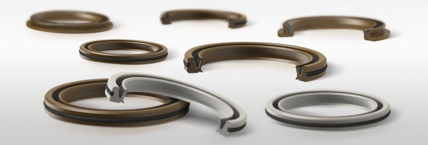 PTFE shaft seals