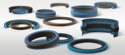 Joints hydrauliques de piston - Hydraulic piston seals - 420 x 185