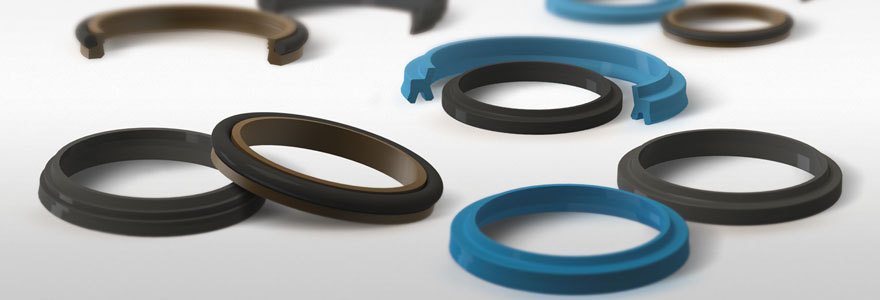 Pneumatic wiper seals